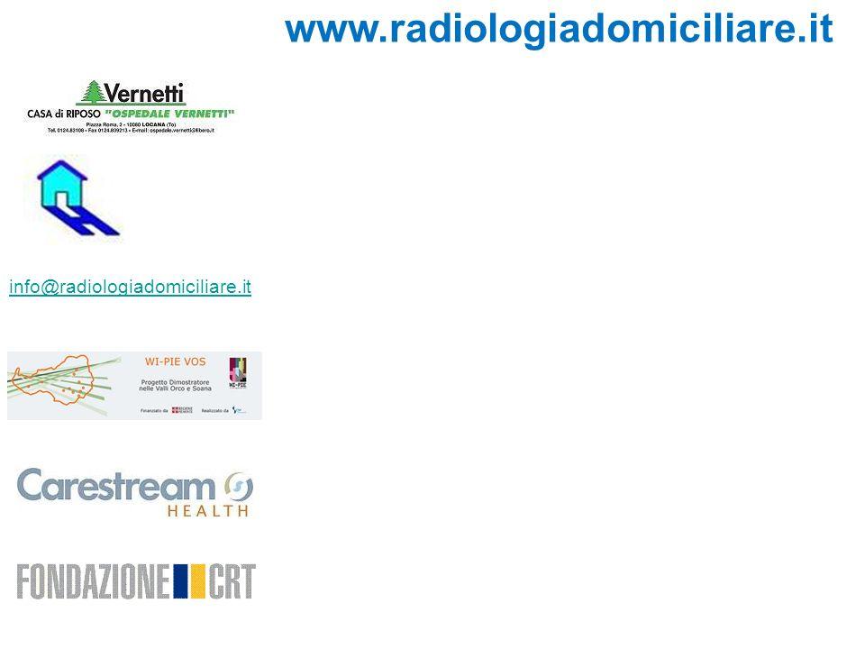 www.radiologiadomiciliare.it info@radiologiadomiciliare.it