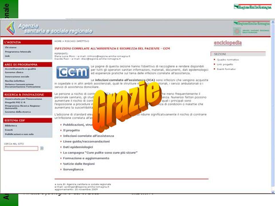 Grazie ANMDO, Bologna 8-11/6/2011 ML Moro