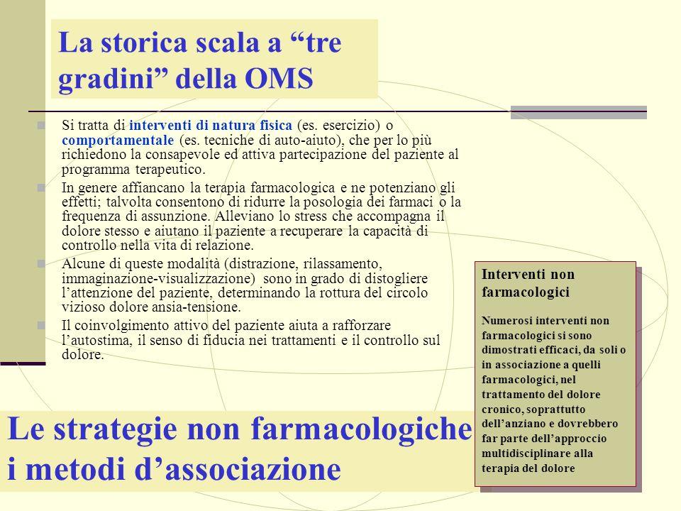 Le strategie non farmacologiche: i metodi d'associazione