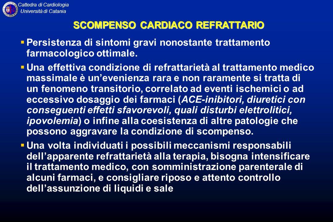 SCOMPENSO CARDIACO REFRATTARIO
