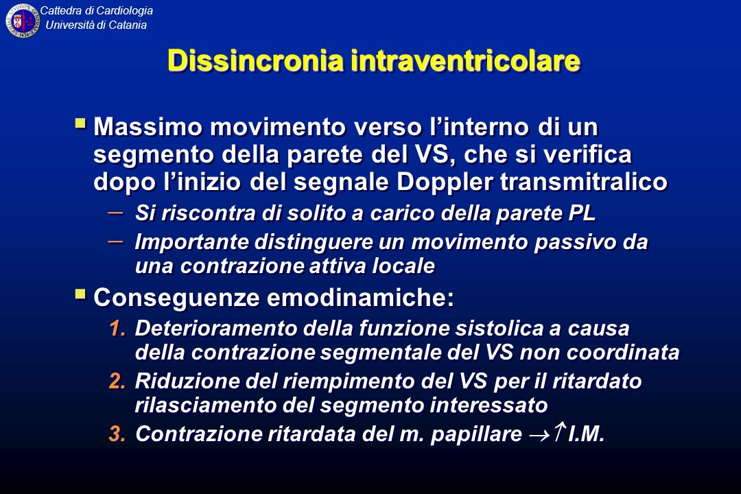 Dissincronia intraventricolare