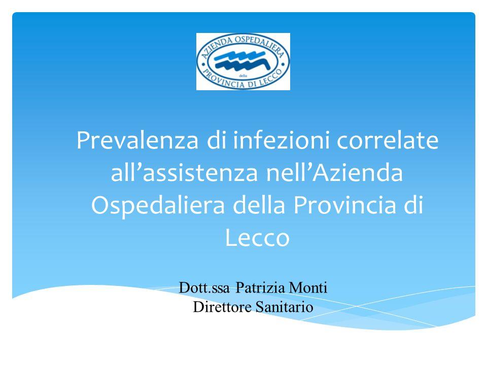Dott.ssa Patrizia Monti Direttore Sanitario