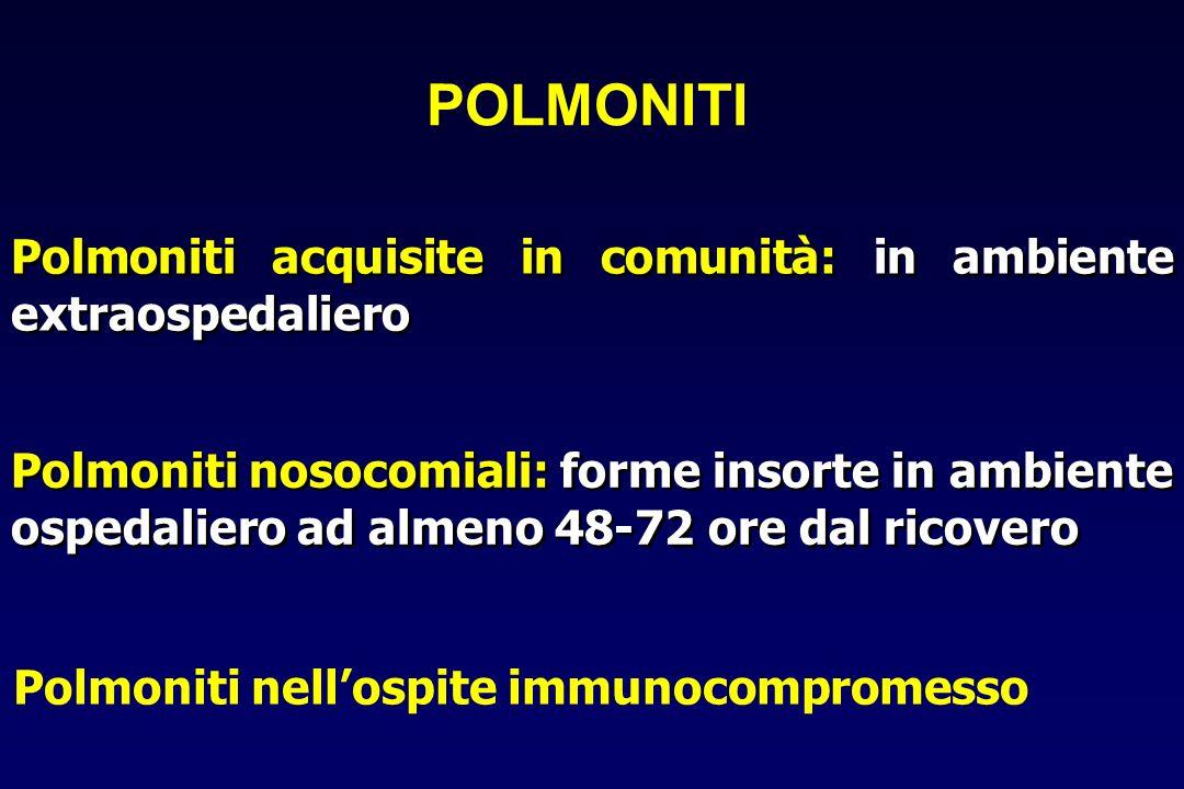 Polmoniti nell'ospite immunocompromesso