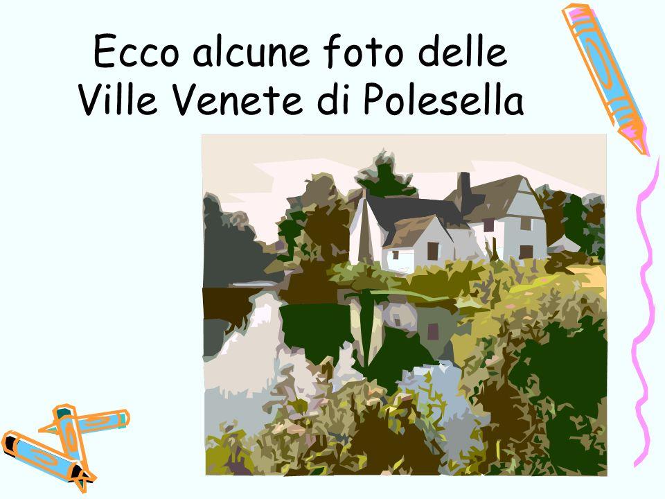 Ecco alcune foto delle Ville Venete di Polesella