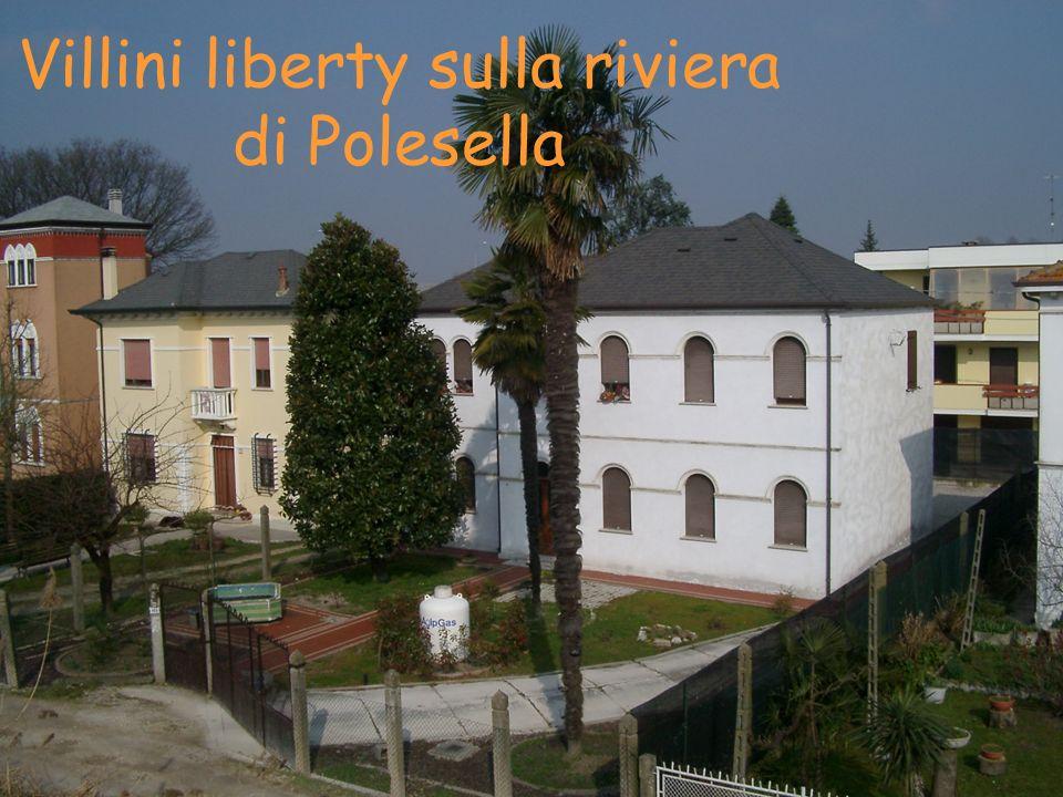 Villini liberty sulla riviera di Polesella