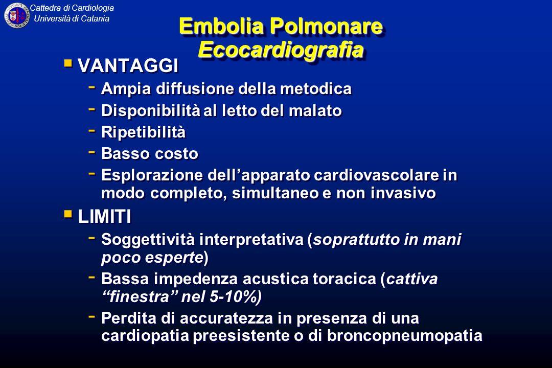 Embolia Polmonare Ecocardiografia