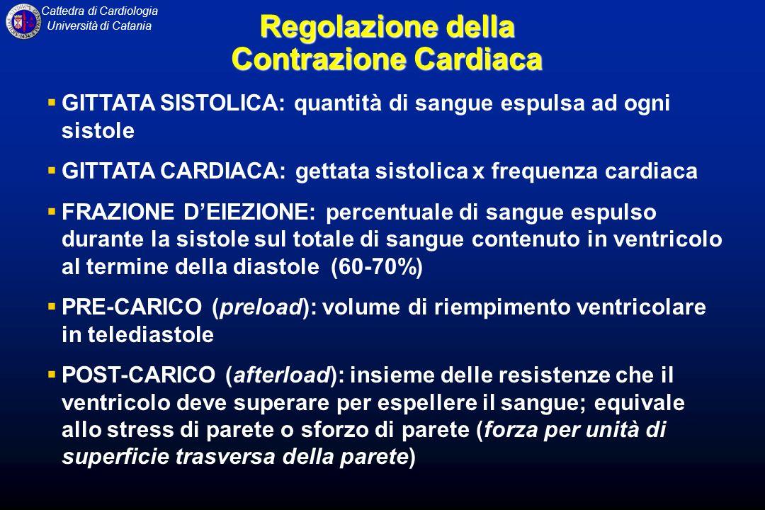 Regolazione della Contrazione Cardiaca