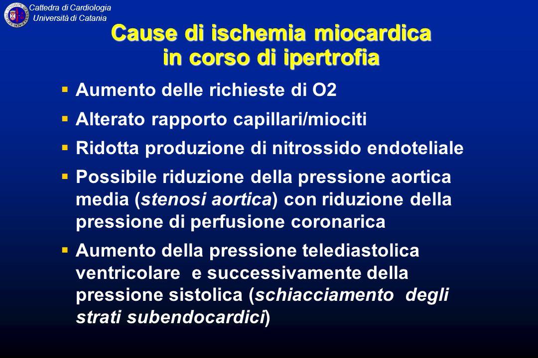 Cause di ischemia miocardica
