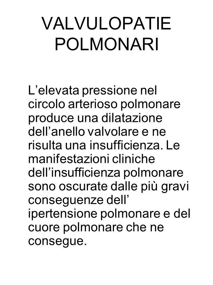 VALVULOPATIE POLMONARI