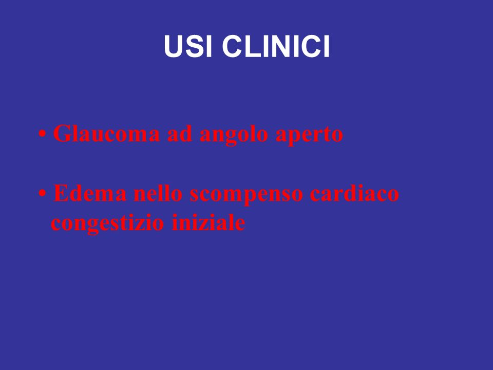 USI CLINICI • Glaucoma ad angolo aperto