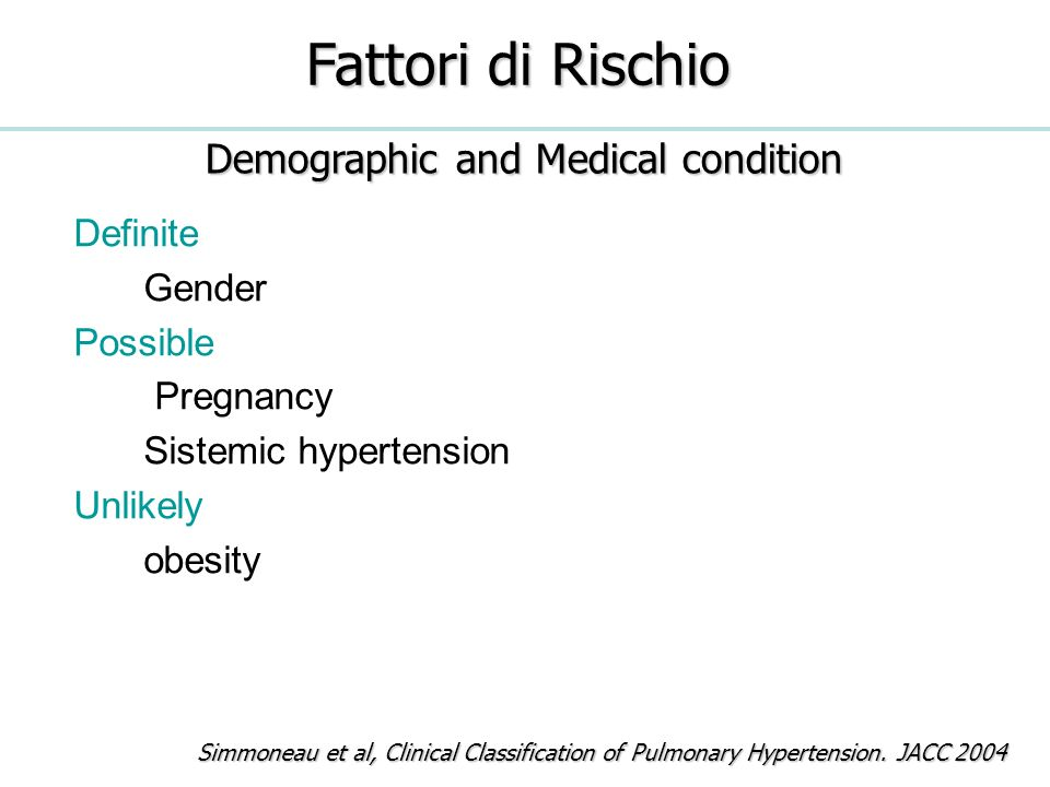 Demographic and Medical condition
