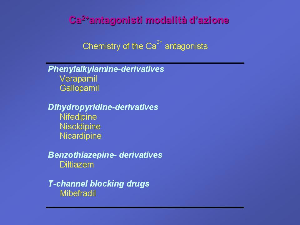Ca2+antagonisti modalità d'azione