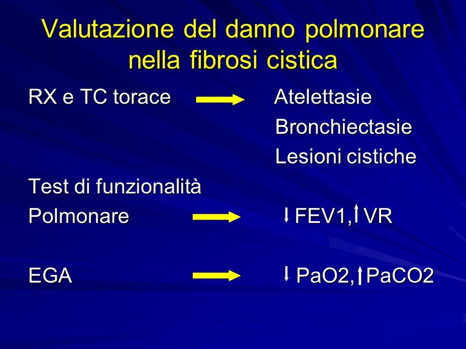 Valutazione del danno polmonare nella fibrosi cistica