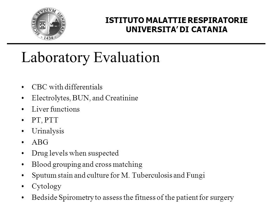 Laboratory Evaluation