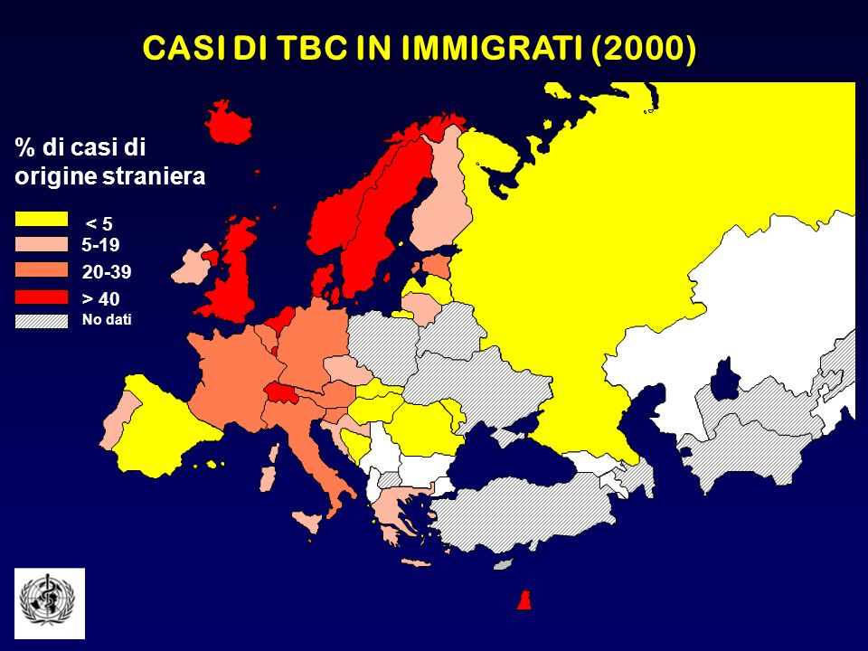 CASI DI TBC IN IMMIGRATI (2000)
