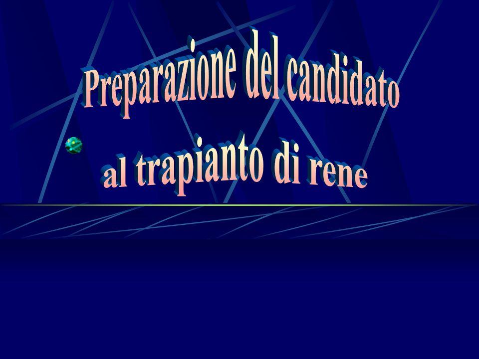 Preparazione del candidato