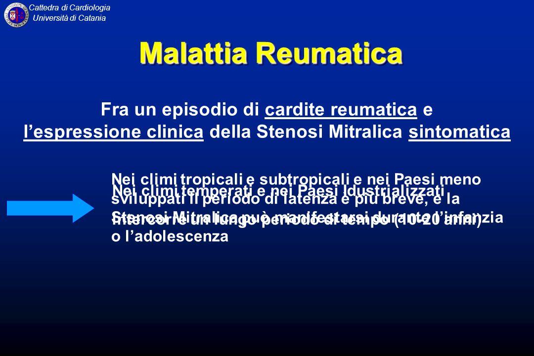 Malattia Reumatica Fra un episodio di cardite reumatica e