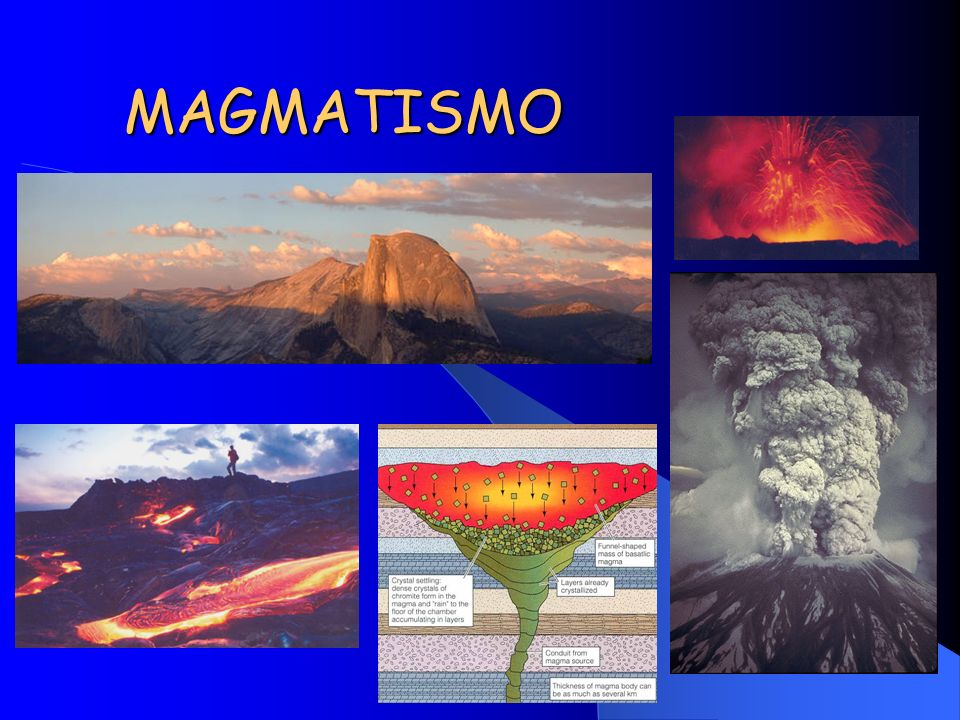 MAGMATISMO We have now created a primary magma by partial melting of the mantle. It is a basalt.