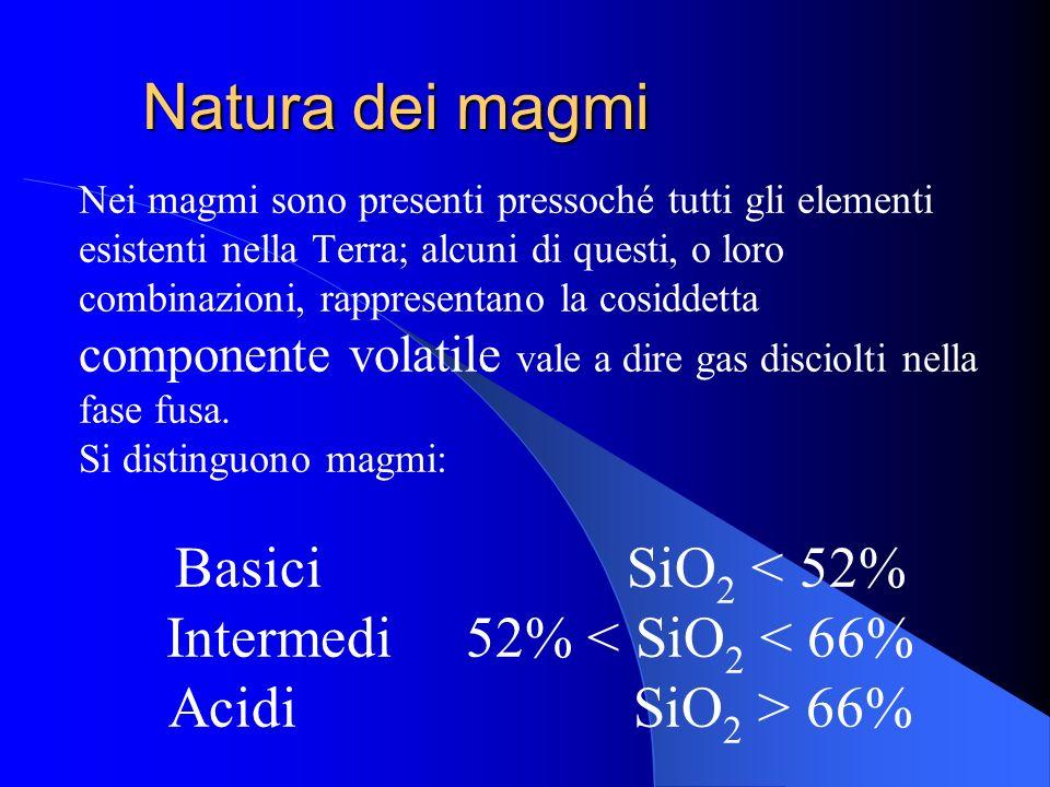 Intermedi 52% < SiO2 < 66%