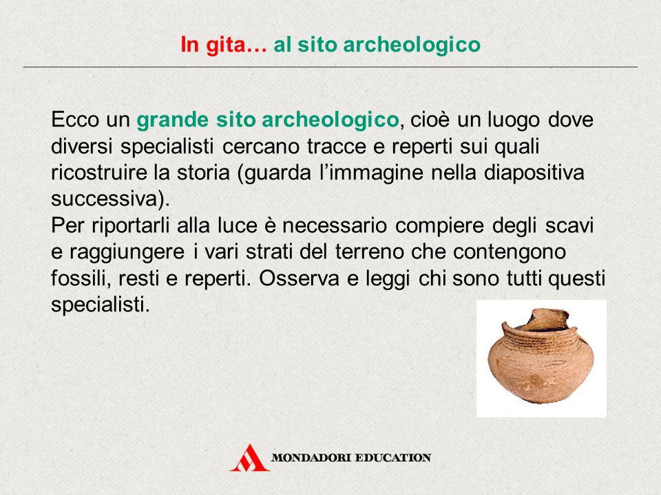 In gita… al sito archeologico