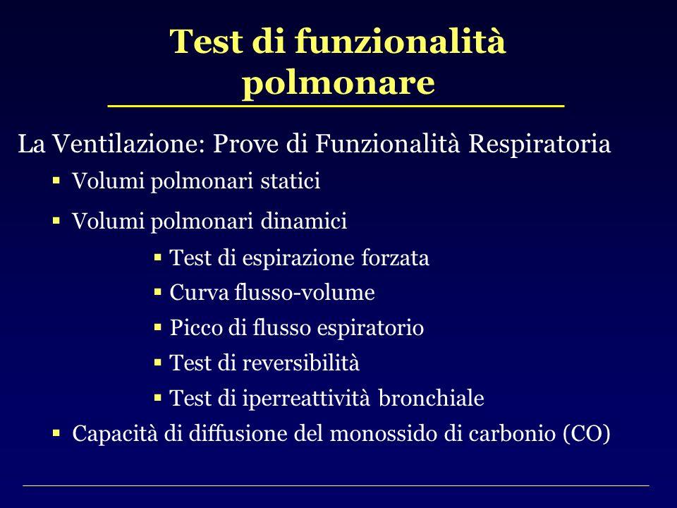 Test di funzionalità polmonare