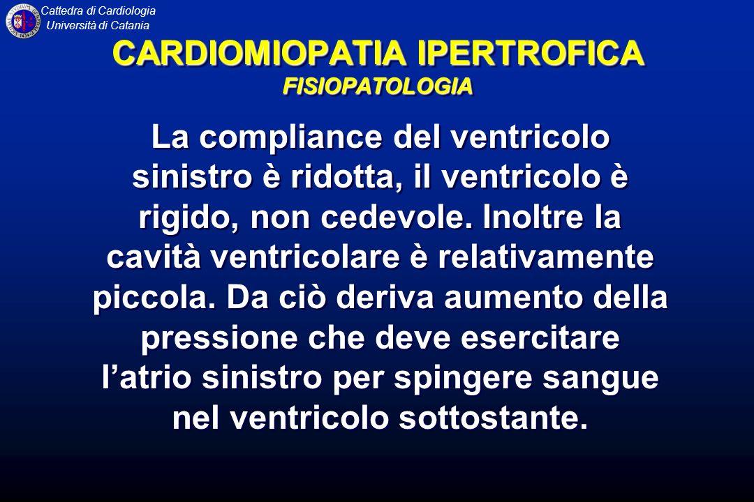 CARDIOMIOPATIA IPERTROFICA FISIOPATOLOGIA