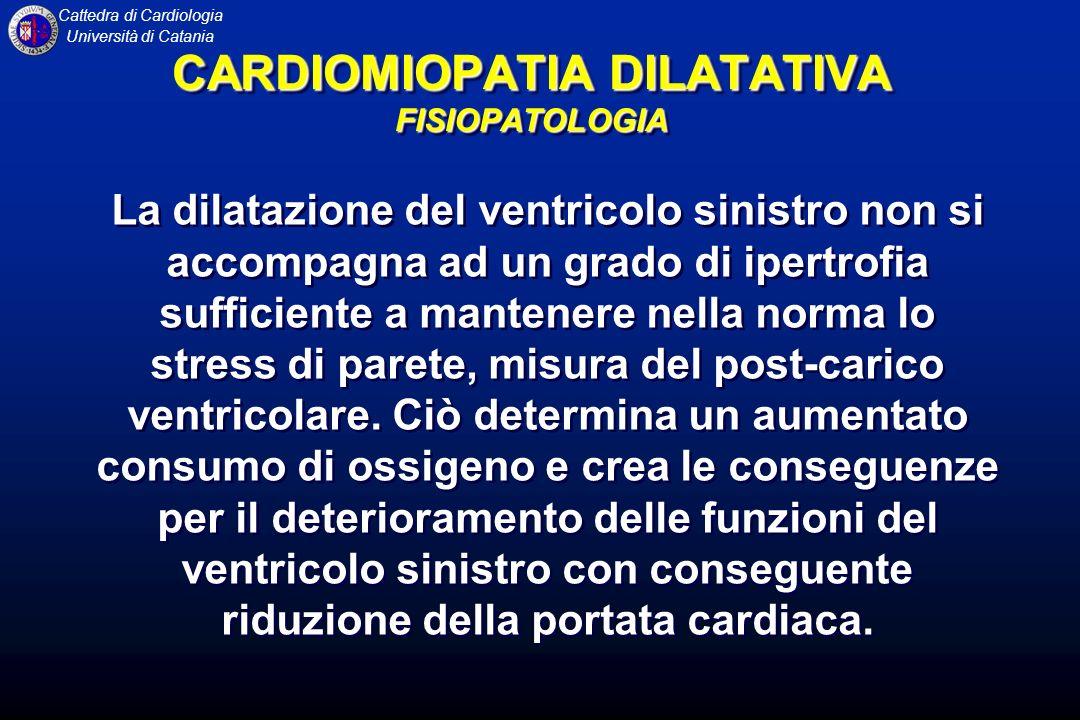 CARDIOMIOPATIA DILATATIVA FISIOPATOLOGIA