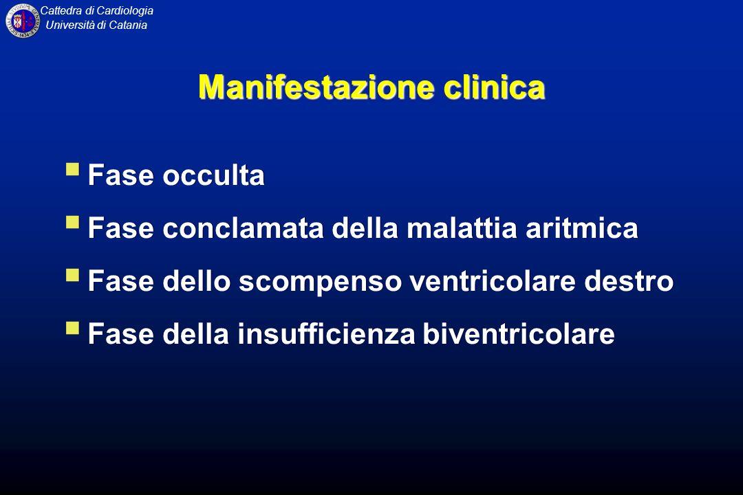 Manifestazione clinica