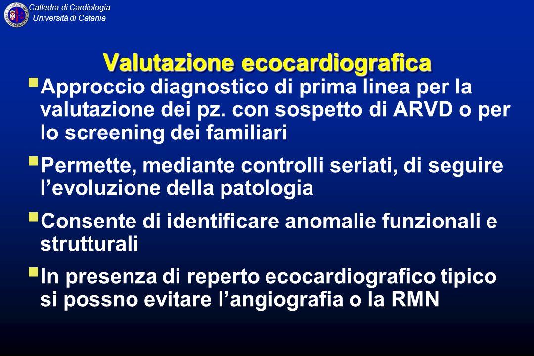 Valutazione ecocardiografica