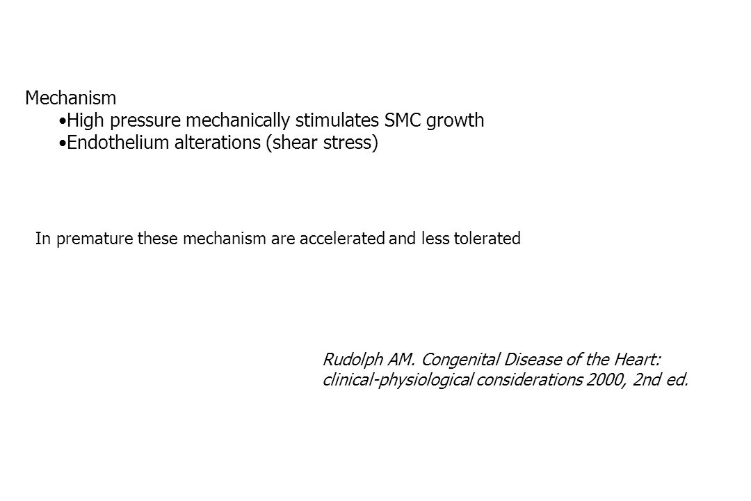 High pressure mechanically stimulates SMC growth