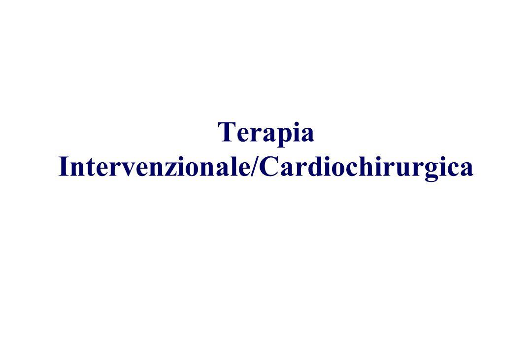 Terapia Intervenzionale/Cardiochirurgica