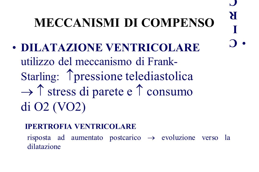 MECCANISMI DI COMPENSO