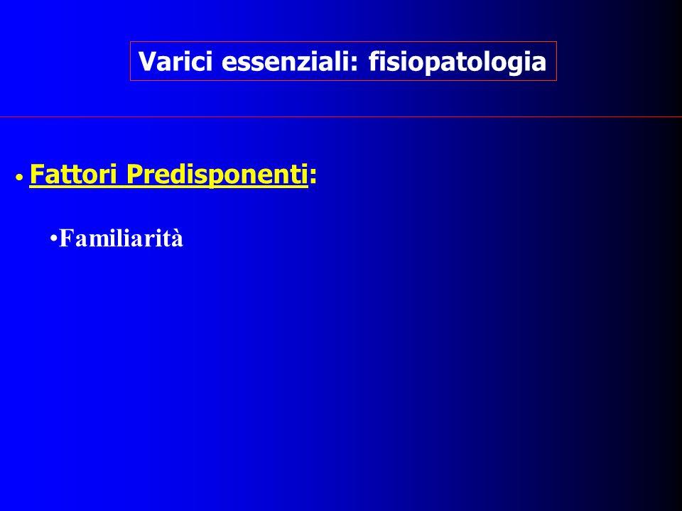 Varici essenziali: fisiopatologia