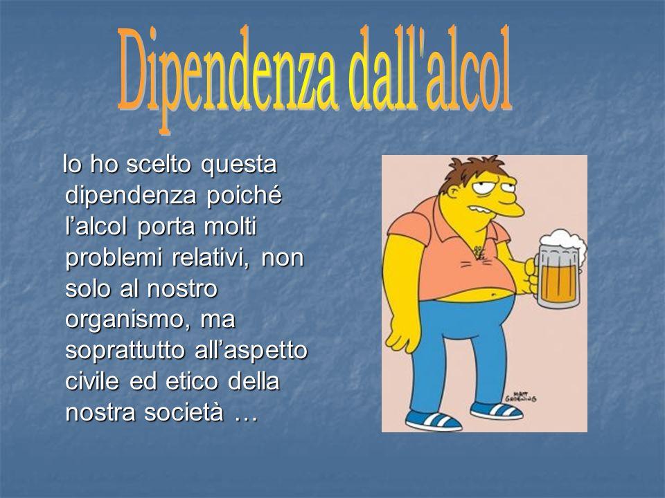 Dipendenza dall alcol