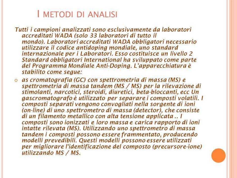 I metodi di analisi
