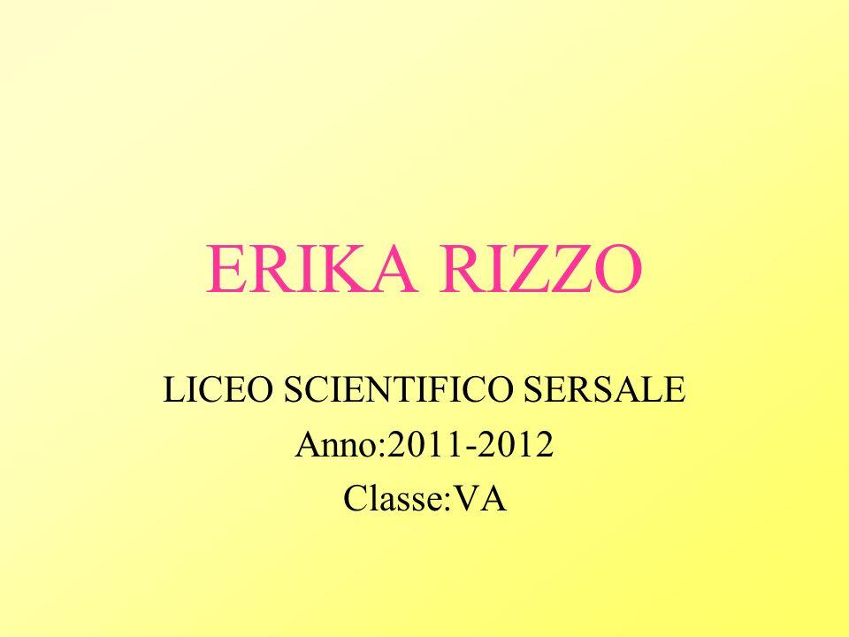 LICEO SCIENTIFICO SERSALE Anno:2011-2012 Classe:VA
