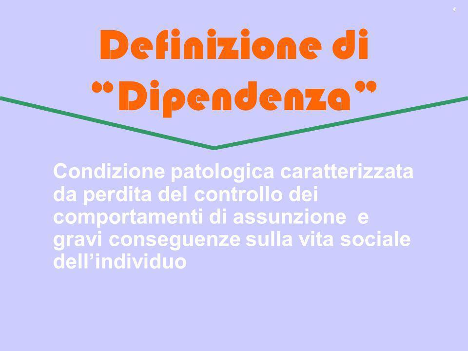 Definizione di Dipendenza