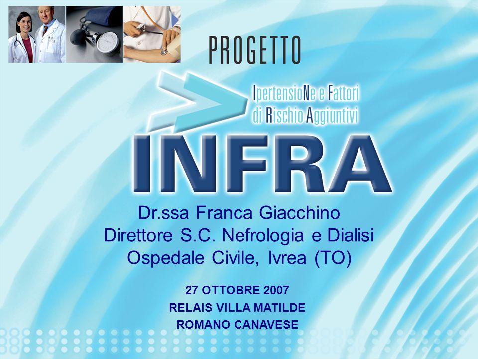 Dr.ssa Franca Giacchino Direttore S.C. Nefrologia e Dialisi