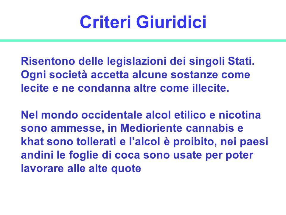 Criteri Giuridici