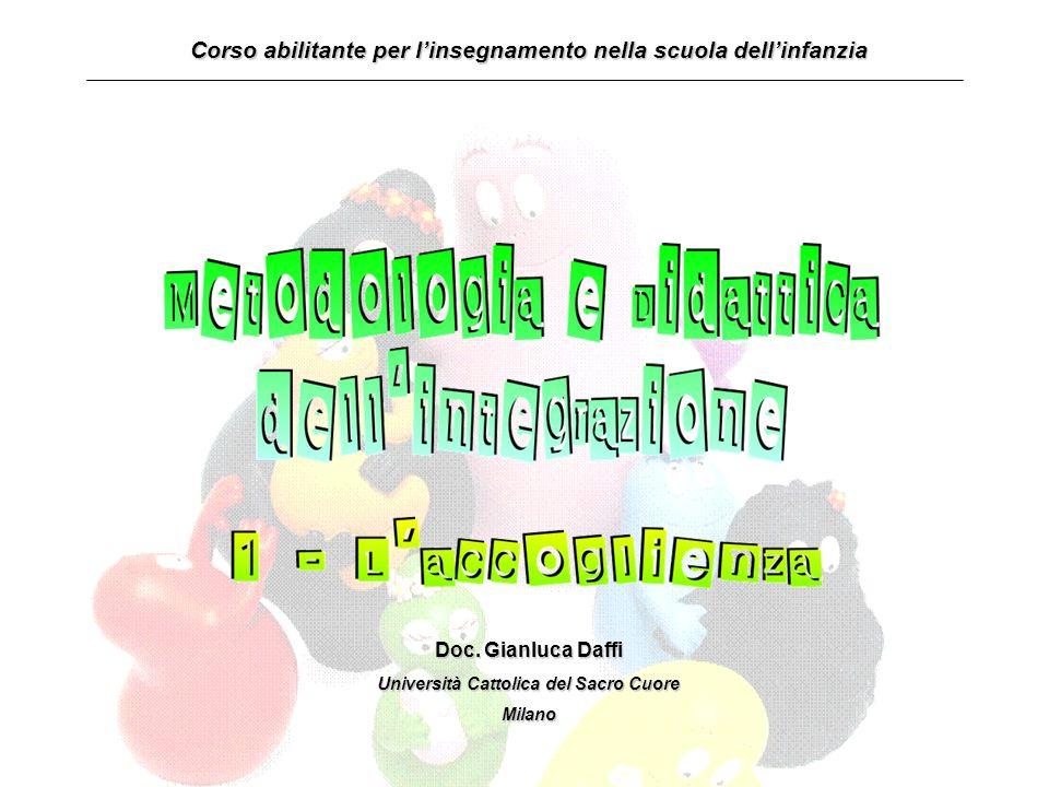 Corso abilitante per l'insegnamento nella scuola dell'infanzia