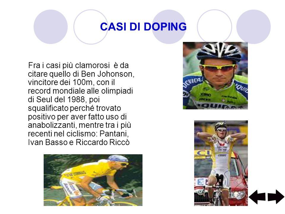 CASI DI DOPING