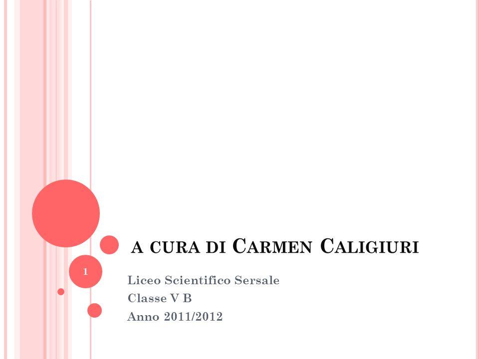 a cura di Carmen Caligiuri
