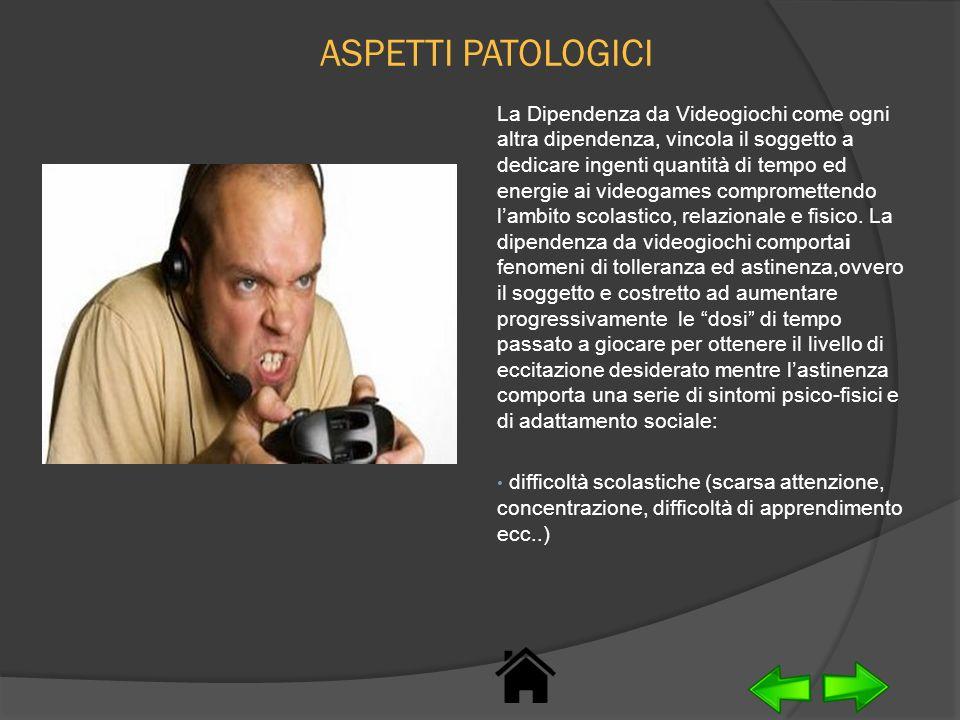ASPETTI PATOLOGICI