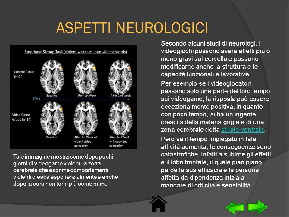 ASPETTI NEUROLOGICI