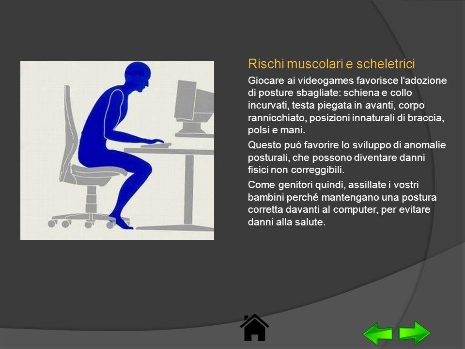 Rischi muscolari e scheletrici
