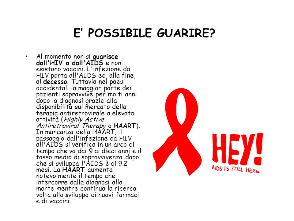 E' POSSIBILE GUARIRE