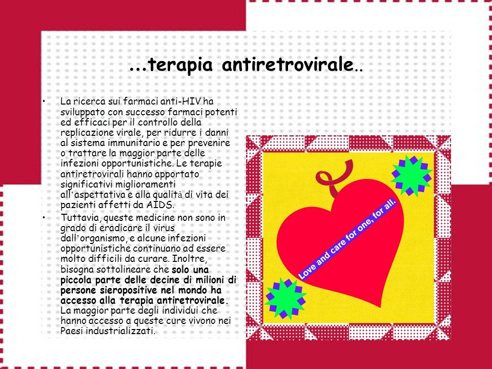 …terapia antiretrovirale..
