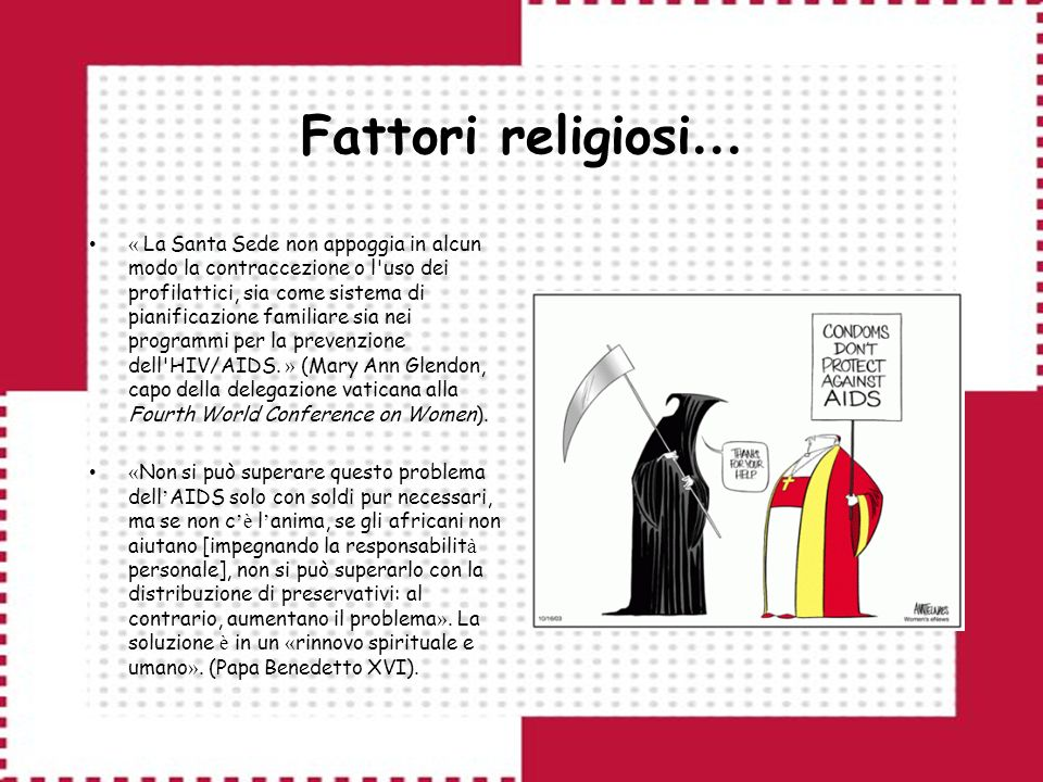Fattori religiosi…