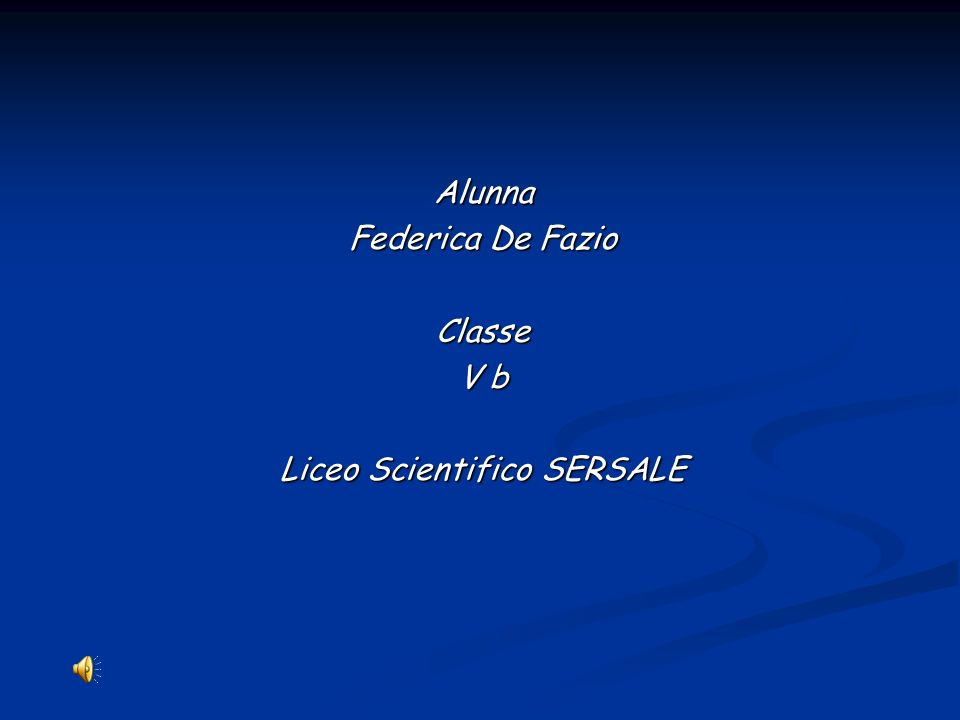 Liceo Scientifico SERSALE