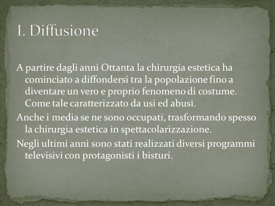 I. Diffusione